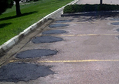 Parking lot permanently repaired - Image 1